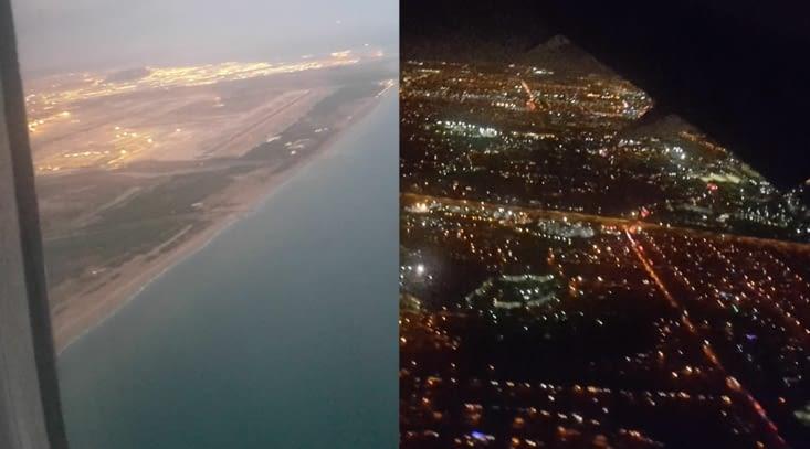 Départ de Barcelone / Arrivée Miami
