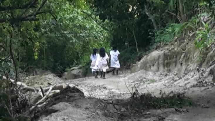 Les indigènes avant le bon verre de coca