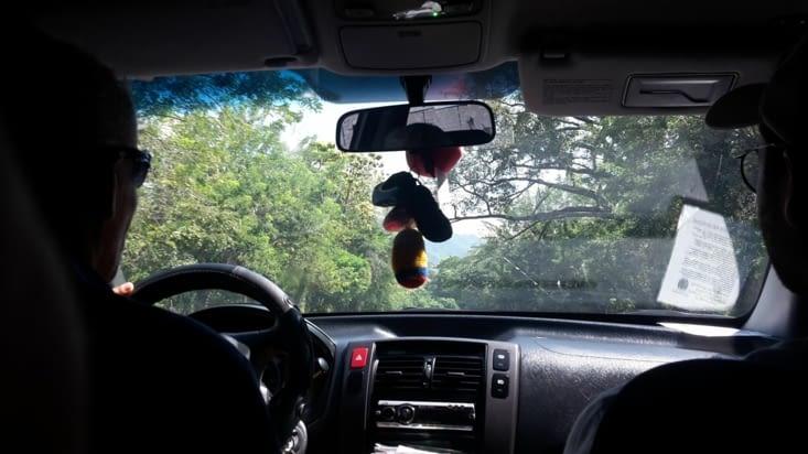 Dans la première voiture de notre aventure