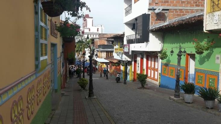 La ville de Guatape