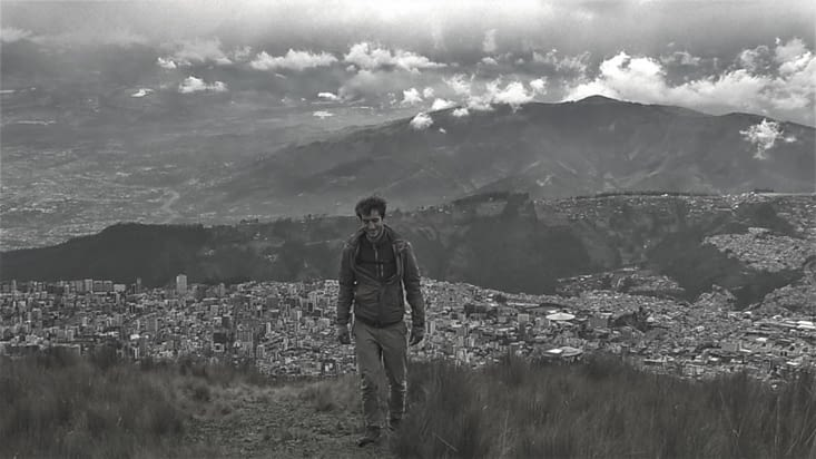 Quito vue d'en haut