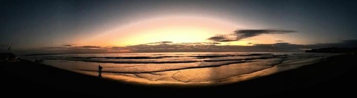 La mer à perte de vue