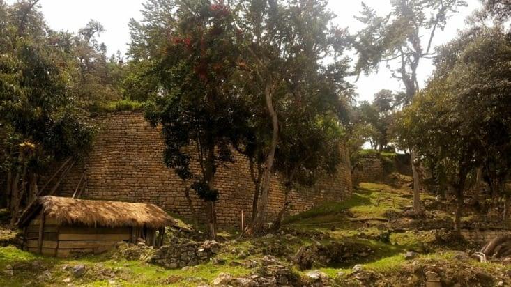 L'intérieur de la forteresse