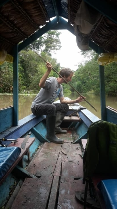 La pêche au harpon