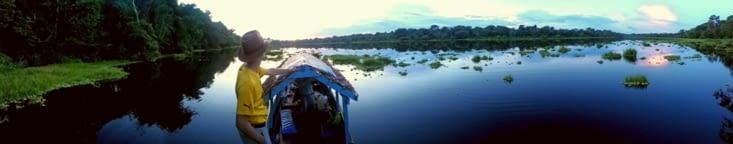 Le lac aux caimans