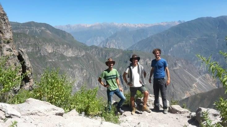 Los gringos del Canyon