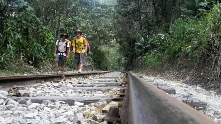 Le long des rails