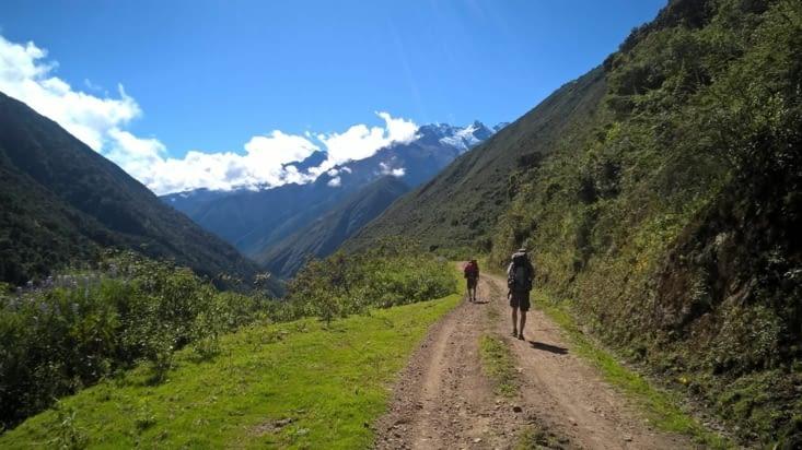 Sur la route du Choquequirao