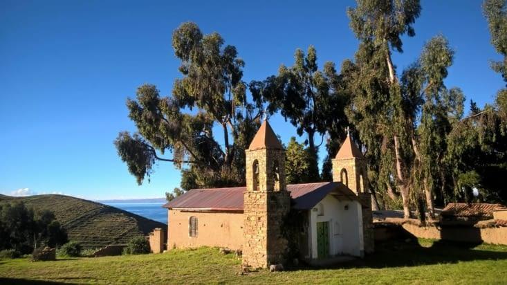 L'église, l'un des seuls bâtiment préservé.