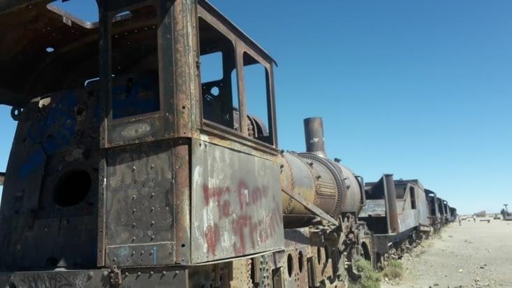 Le cimetière de train