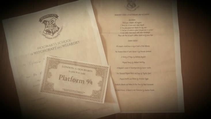 """Jeu de rôle spécial """"Harry Potter"""" pour faire passer ces longues soirées"""