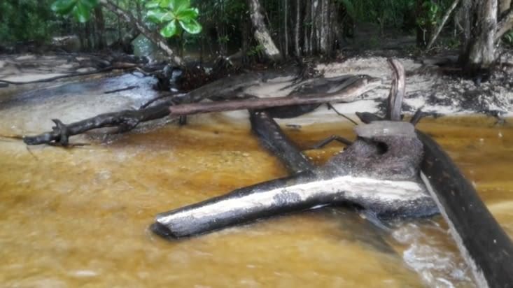 Traverser la rivière en crue comme Mc Gyver
