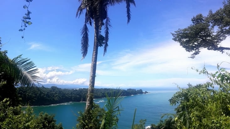 Manuel Antonio : l'océan vu du mirador