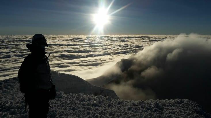 A 5900 mètres d'altitude (Equateur)