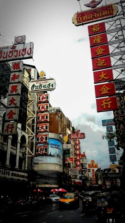 Chinatown à Bangkok (Thaïlande)
