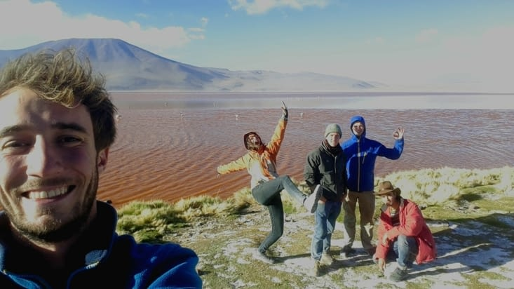La laguna colorada (Bolivie)