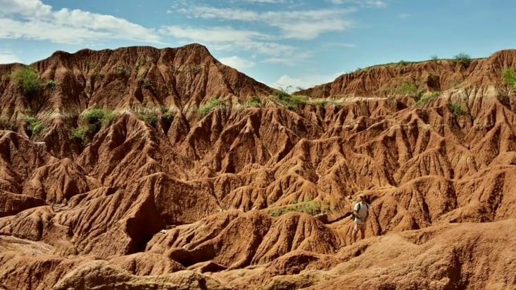Le désert de la Tatacoa (Colombie)