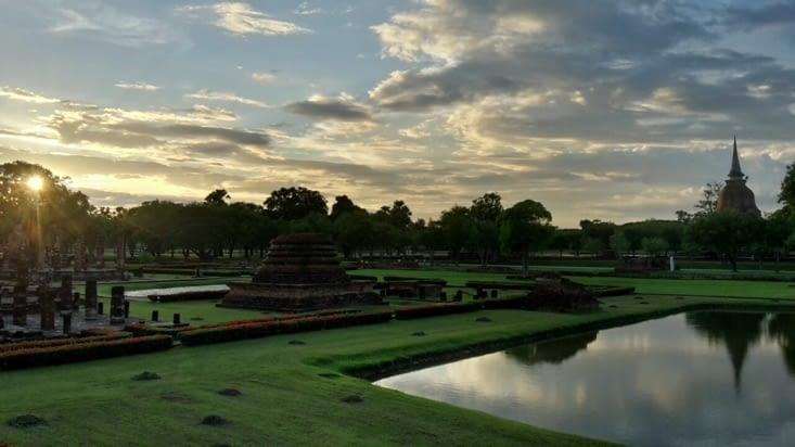 Le village de Sukothaï (Thaïlande)