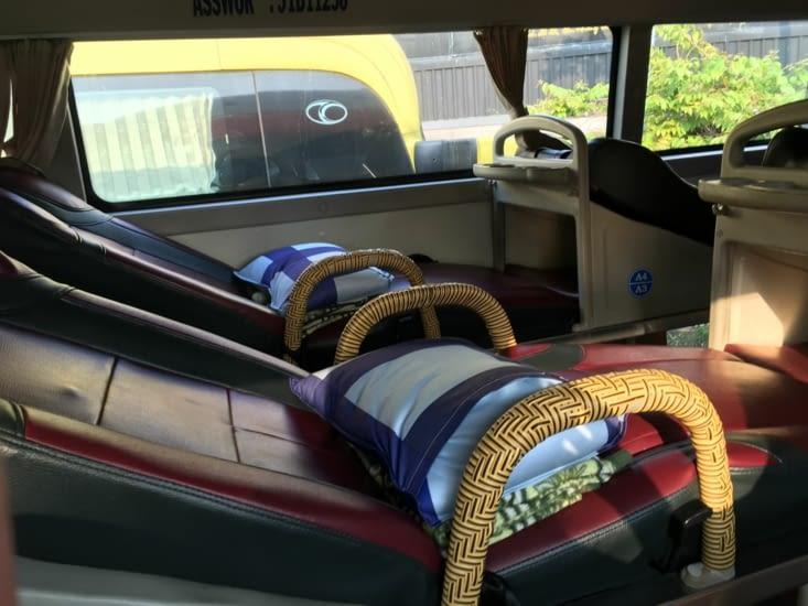 11h de bus mais avec un bon confort!