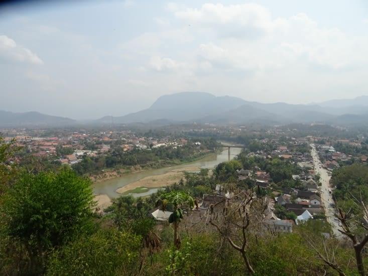 Depuis la colline Phu Si