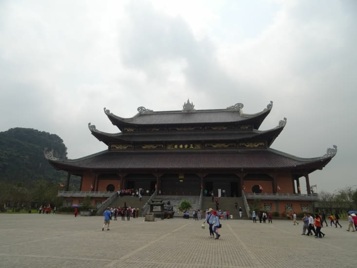 Le petit temple de Bai Din