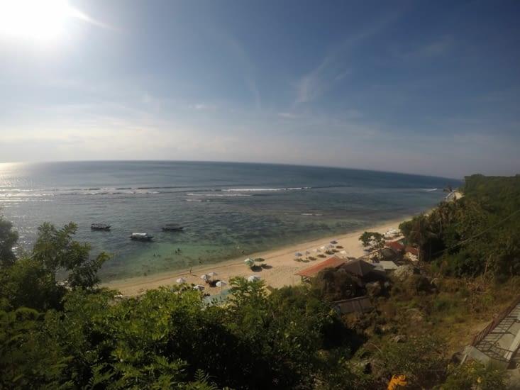 Aperçu d'une plage dont on a oublié le nom...