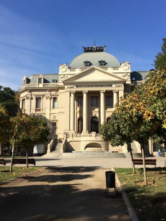 Le Musée d'Art Contemporain de Santiago