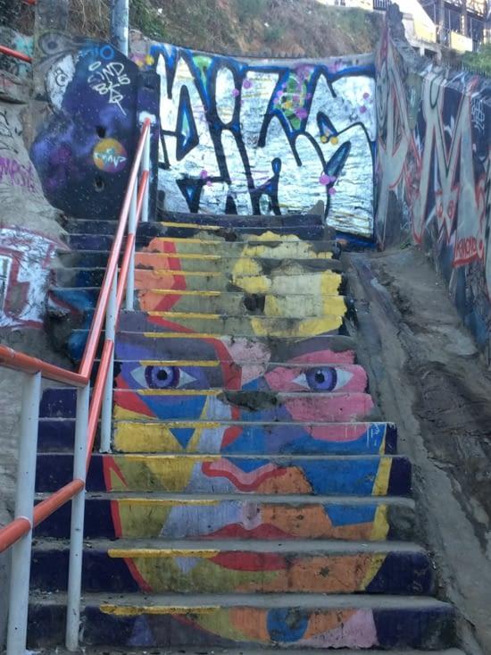 Le street art à Valpo, ça a de la gueule (1)