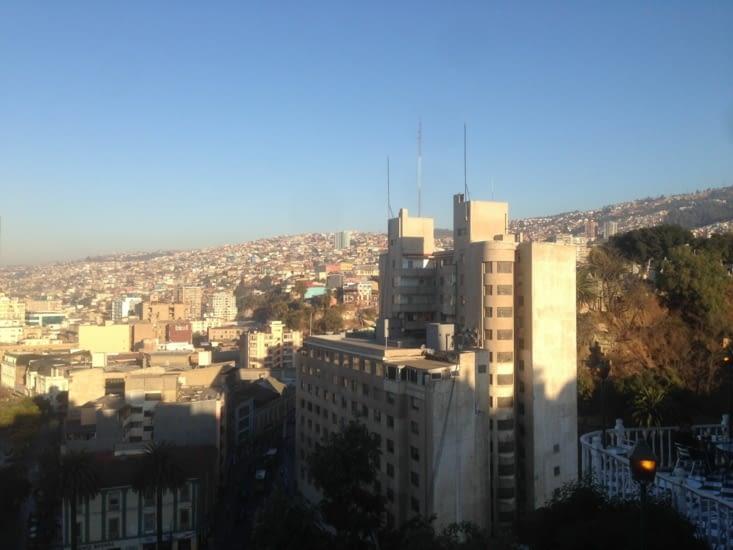 Les hauteurs de Valparaiso