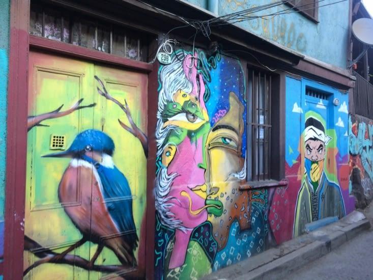 Street-art à Valparaiso