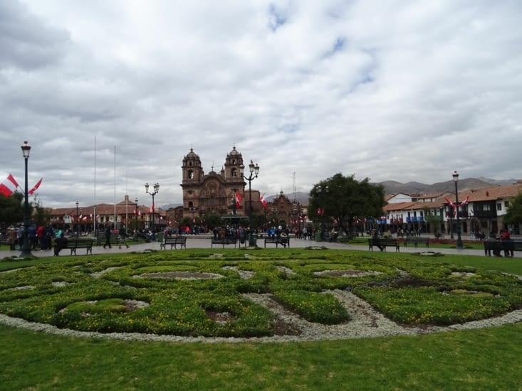 La Plaza de las Armas de Cusco