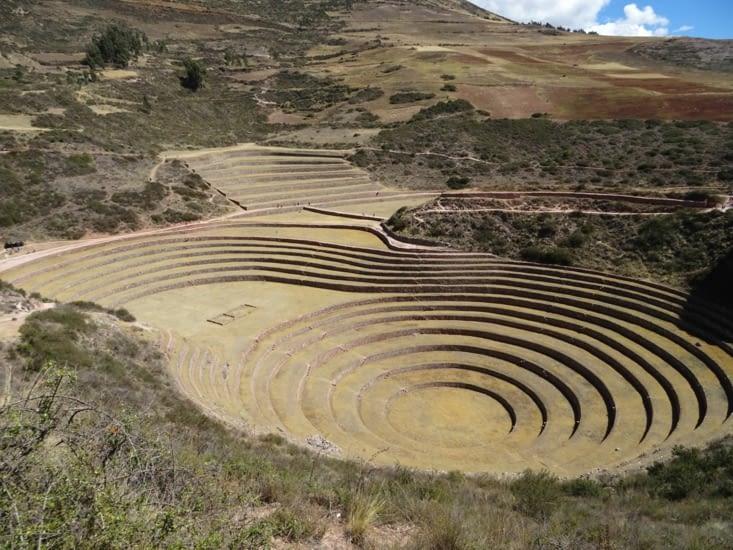 Les ruines incas de Moray