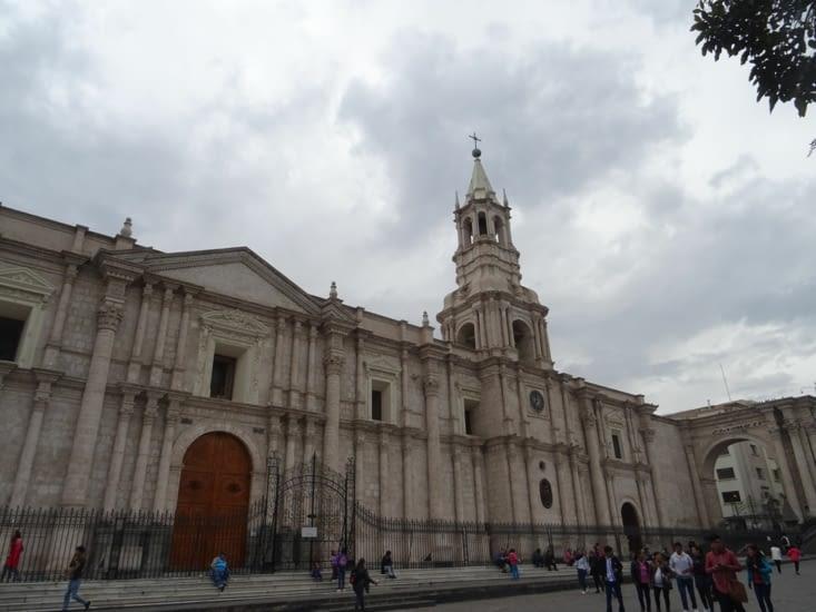 Notre Dame d'Arequipa, une sacrée bâtisse (c'est le cas de le dire !)