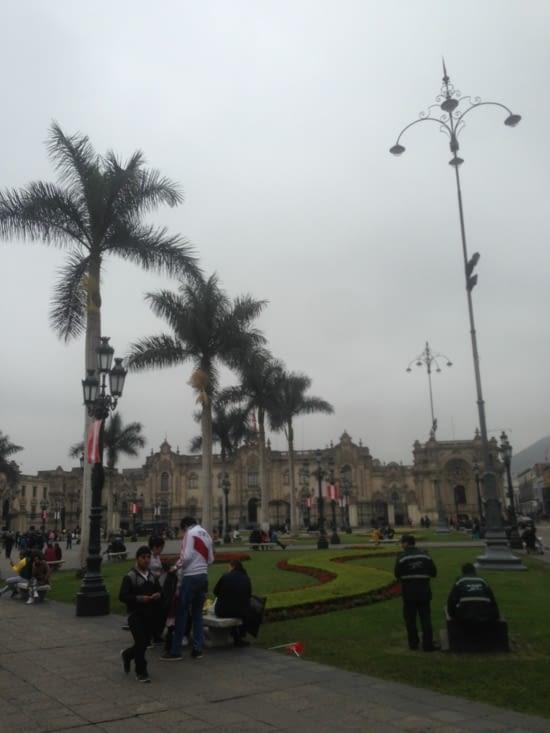 Place centrale de Lima