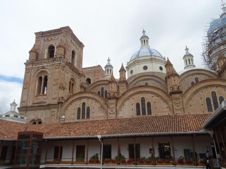 La très belle et imposante cathédrale de Cuenca