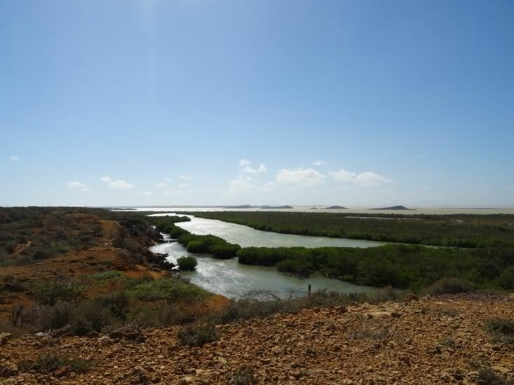 L'arrivée à Punta Gallinas
