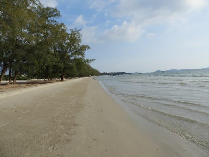 Heureusement certaines plages sont maintenues propres
