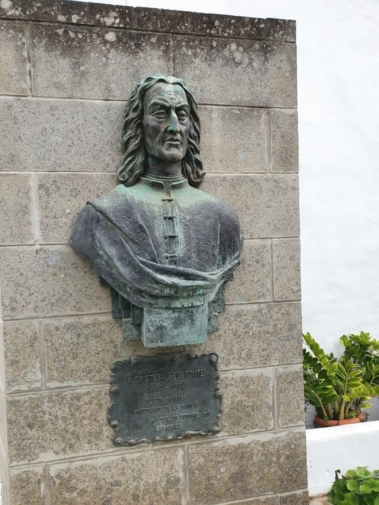 Le fondateur Cristobal de la Ponte