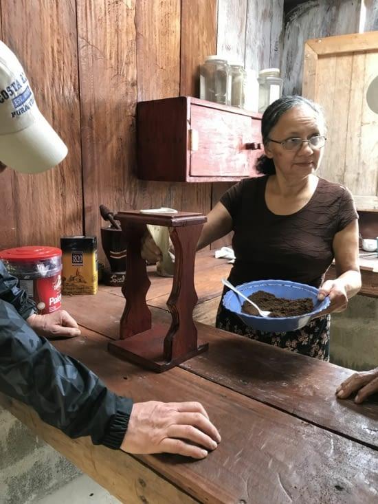 preparation du café