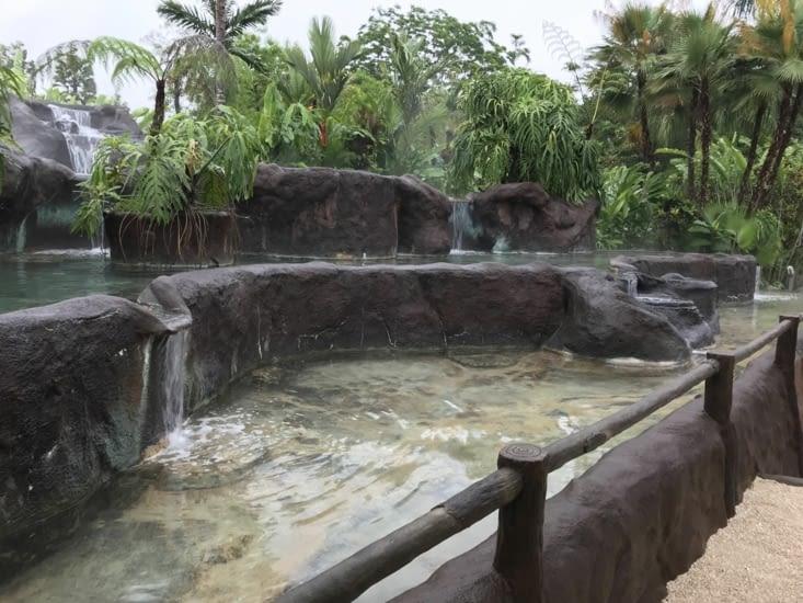 Las piscinas calientes