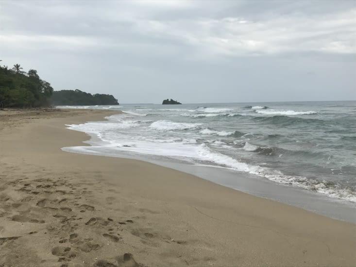 La plage juste pour nous