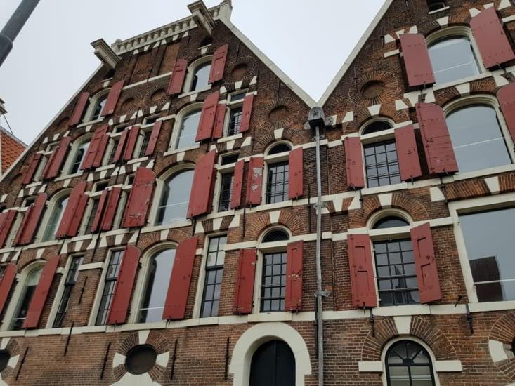 Entrée du Plantaje, le Quartier Juif d'Amsterdam