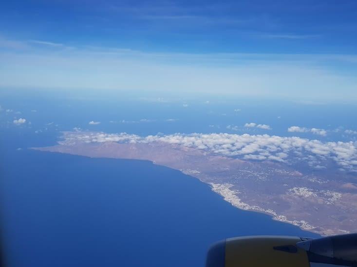 Fuerteventura vue du ciel