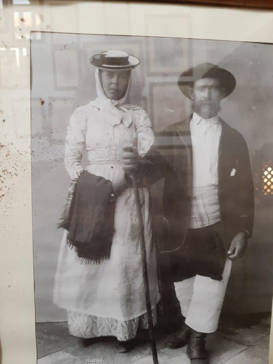 Couple de paysans