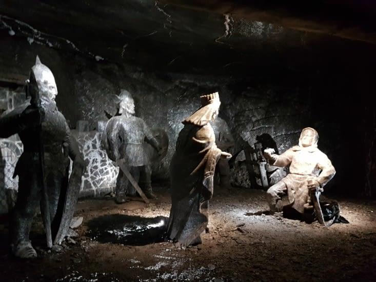 Des sculptures taillées dans le sel!