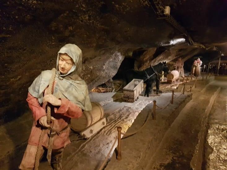 Visite de la mine de sel