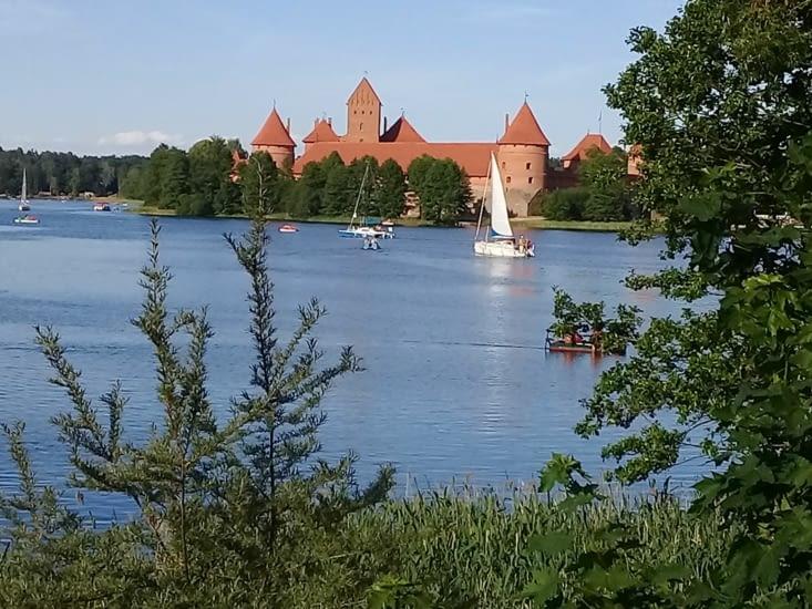 Le chateau de Trakai