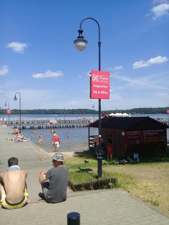 Les plages d''Augustow