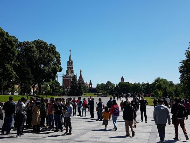 À l'intérieur du Kremlin