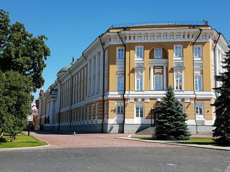 Les bureaux des Présidents dont Poutine